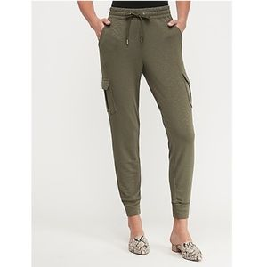 NWT Express Mid Rise Marled Cargo Pocket Joggers